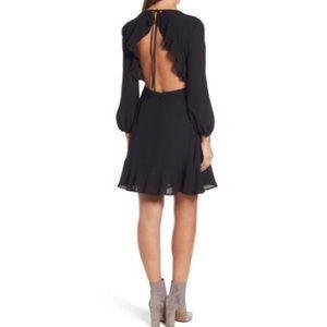 Chelsea28 Open Back Ruffle Dress